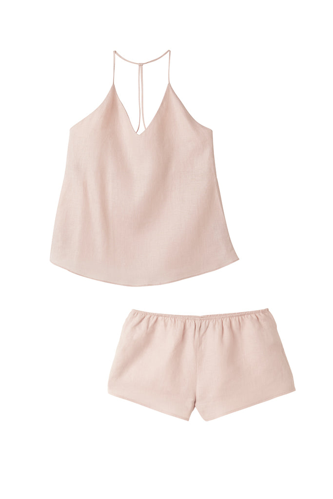 Tea Rose Raven Singlet & Shorts Set - REDUCED FURTHER 50% OFF