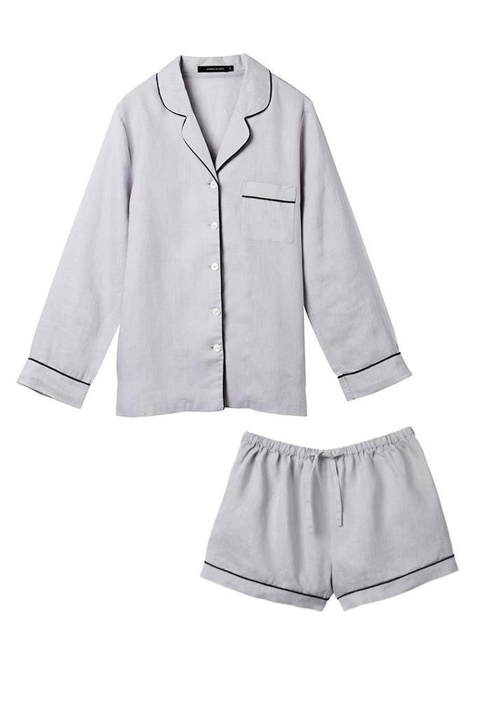 Silver Valentine Shirt w/ Shorts Set