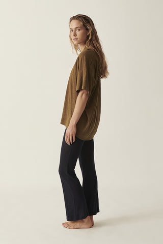 Navy Martine Flare Pant