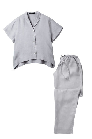 Silver Evie shirt w/ Long Pants Set