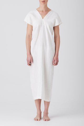 Ivory Iris Holiday Midi Dress