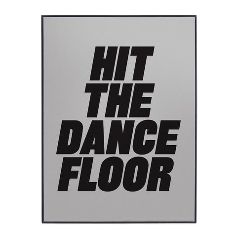 Seletti - Hit The Dance Floor Metal & Glass Mirror