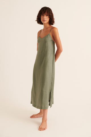 Olive Tatum Singlet Midi Dress