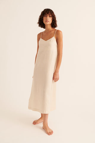 Powder Tatum Singlet Midi  Dress