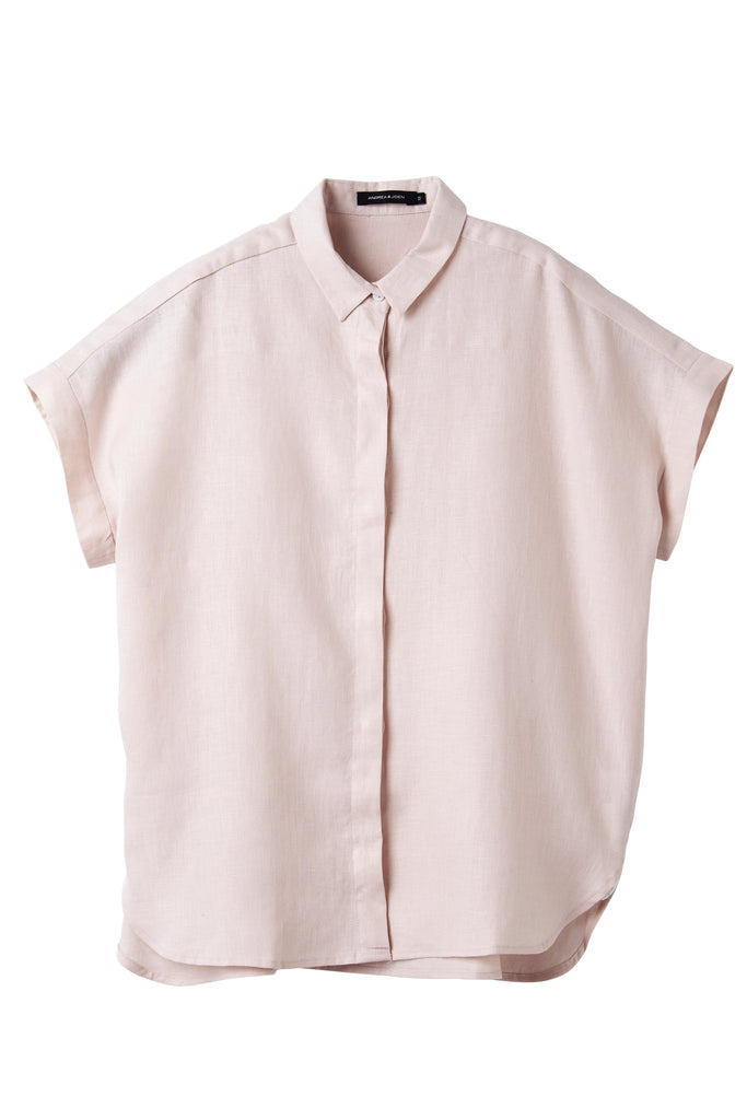 Tea Rose Raven Short Sleeve Shirt