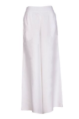 Snow Raven Wide Leg Pants