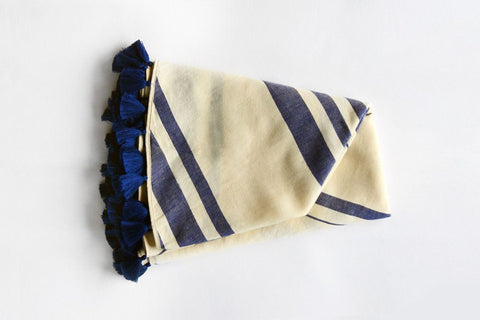 Roundie Coast Turkish Towel Navy