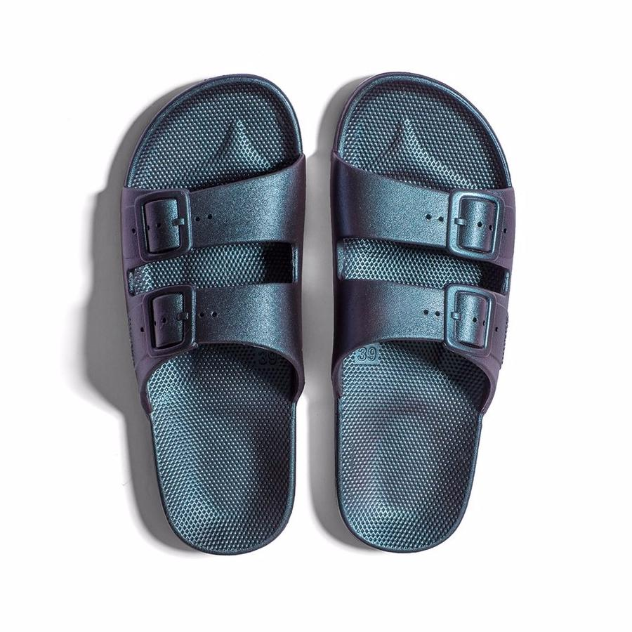 bc279c80b9c Moses Sandals Black For Kids - Collerette. Freedom Moses Sandals - Mikado –  Footage