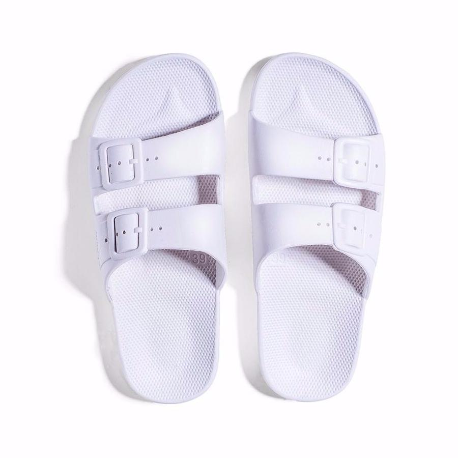Freedom Moses Sandals - White