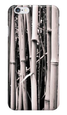Bamboo in Black & White iPhone Case