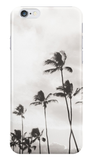 Palms in Black & White iPhone Case