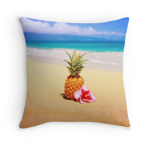 Baldwin Beach Pineapple Pillow
