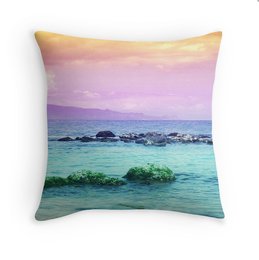 Baldwin Sunset Pillow