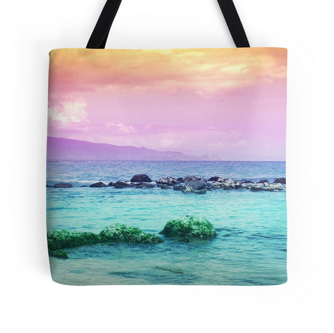 Baldwin Beach Sunset Tote Bag