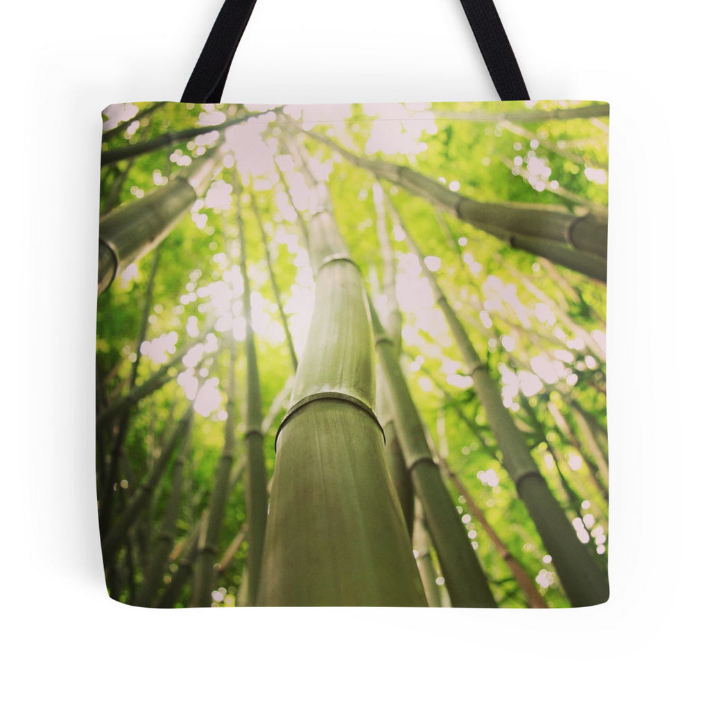 Bamboo Heaven Tote Bag