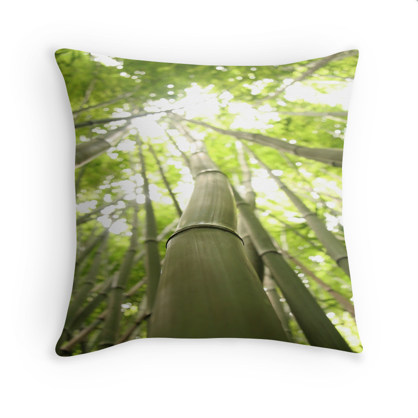 Bamboo Heaven Pillow