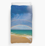 Double Rainbow Duvet