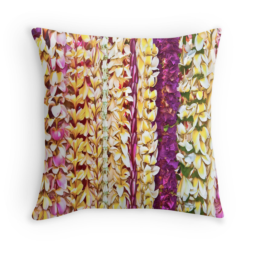 Hawaiian Leis Pillow