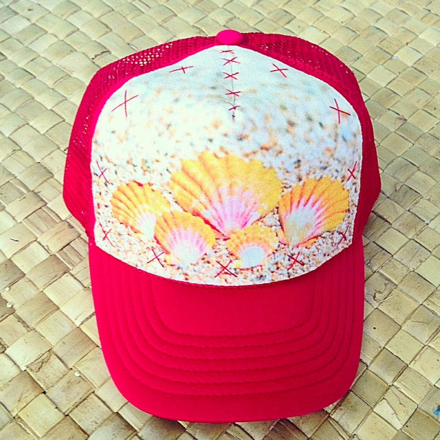 Child Sunrise Shell Collection Hat