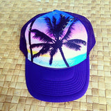 Purple Sunset Palm Hat