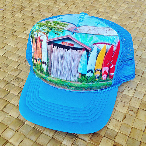 Child Paia Rainbow Surf Fence Hat