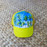 Tahiti Palm Trees Hat