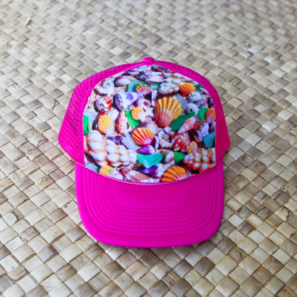 Child Seashells by the Sea Shore Hat