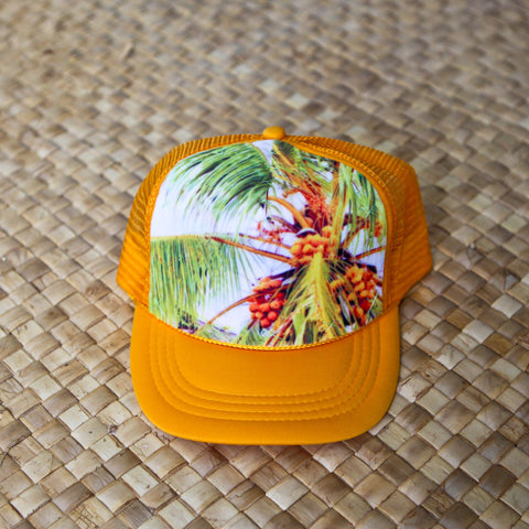 Tahitian Coconut Tree Hat