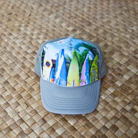 Kuau Surfboard Fence Hat
