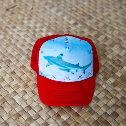 Tahitian Shark Hat