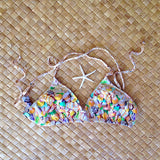 Sea Shells Bikini Top