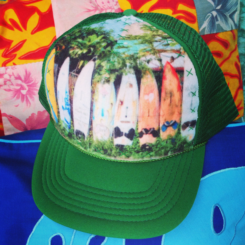 Rustic Surf Fence Hat