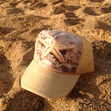Starfish In The Sand Hat