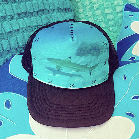 Tahitian Reef Shark Hat