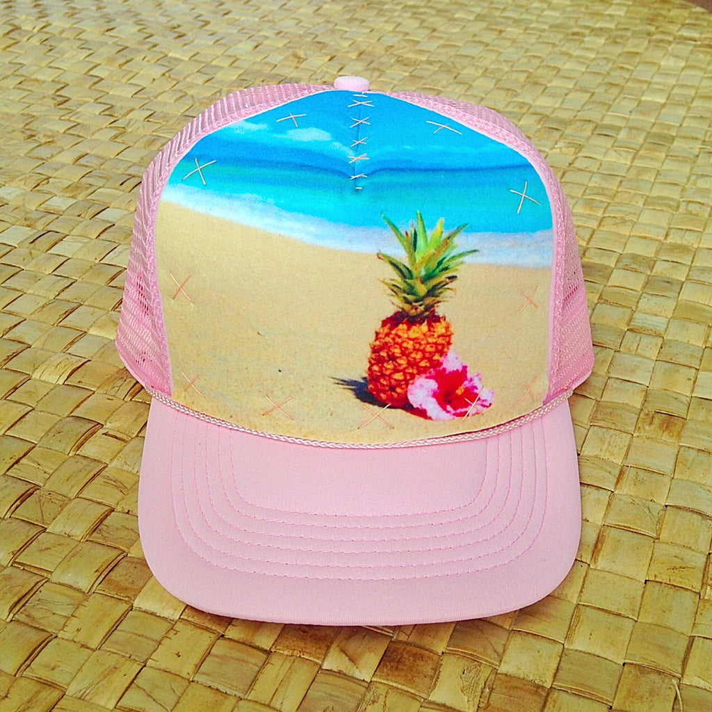 Paradise Pineapple Beach Hat
