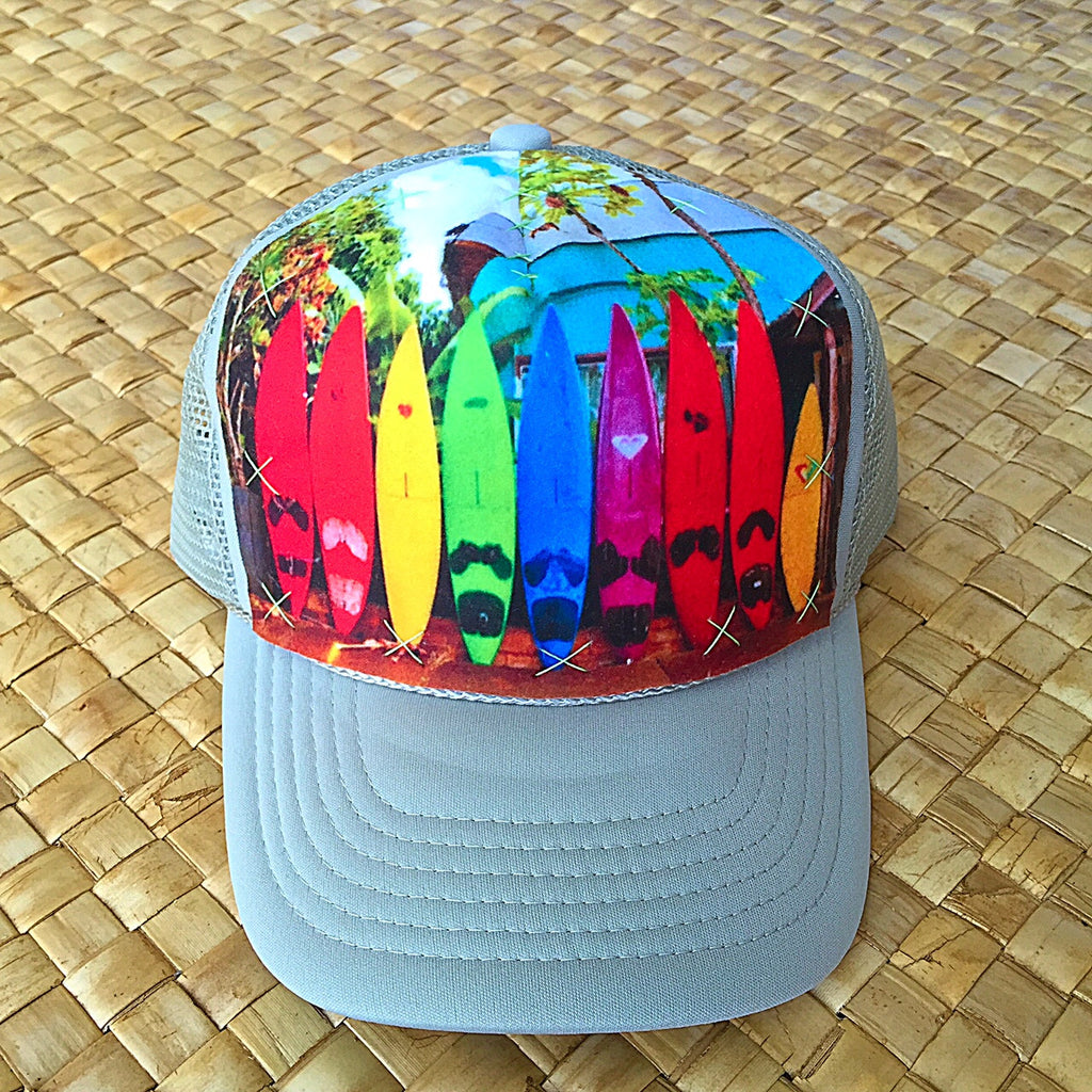 Child Paia Rainbow Roxy Surf Fence Hat