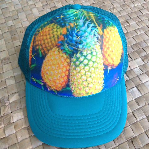 Tahitian Pineapple Hat