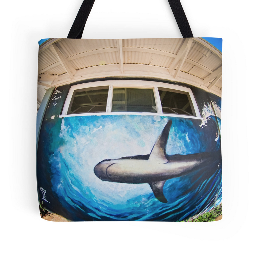 Kuau Mart Shark Tote Bag