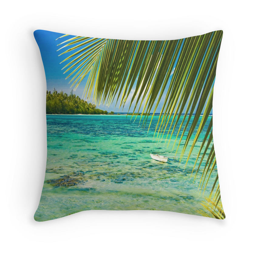 Moorea Lagoon Pillow