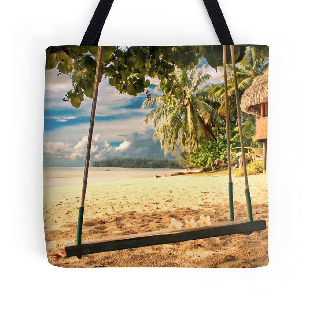 Moorea Relaxation Tote Bag