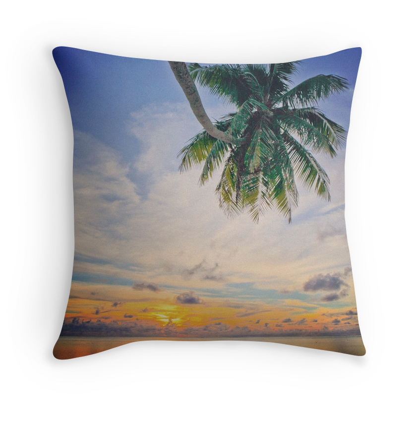 Moorea Sunset Pillow