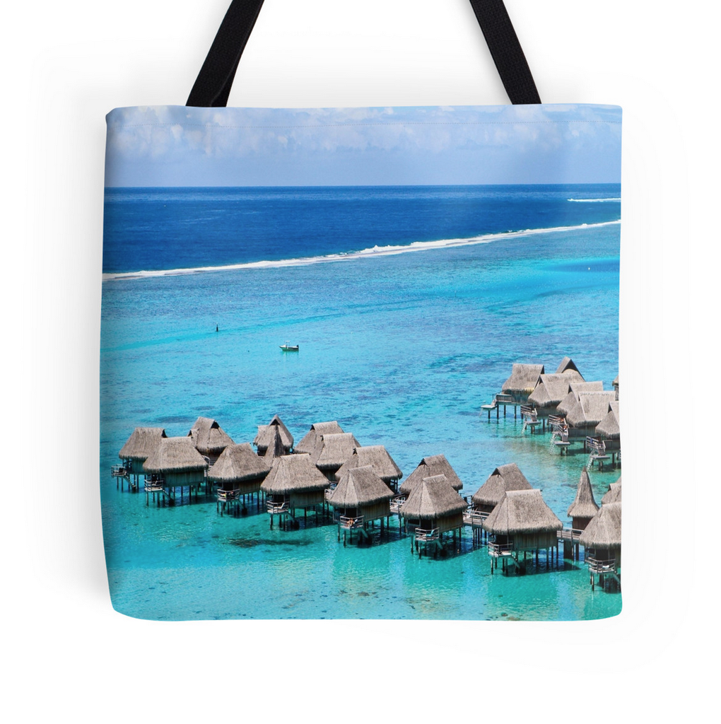 Moorea Views Tote Bag