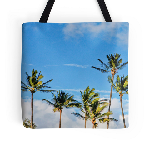 Paia Palms Tote Bag