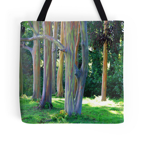 Rainbow Eucalyptus Tote Bag
