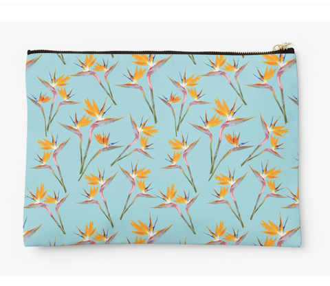 Bird of Paradise in the Sky Clutch