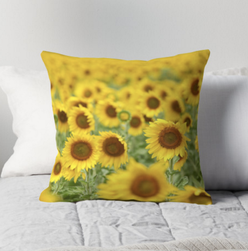 Sunflower Dreams Pillow