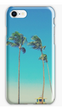 Baldwin Beach Tower & Palms iPhone Case