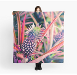 Purple Pineapple Sarong