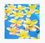 Floating Yellow Plumerias Sarong