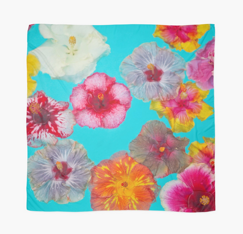 Hibiscus Pool Party Sarong
